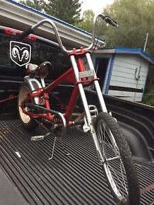 Chopper pedal bike