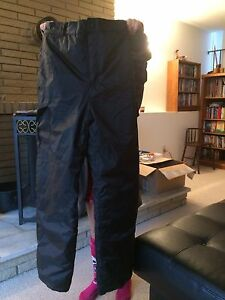 Size large kids black snow pants