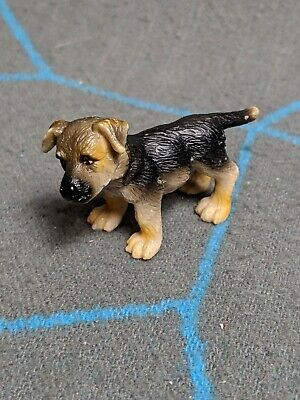 Schleich GERMAN SHEPHERD Puppy Baby Dog Realistic Animal Plastic Toy 2005  for sale  Shipping to Canada