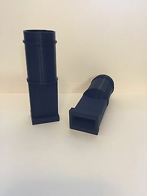 T-slot Cleaner Vacuum Attachment 3dprinted Fits Bridgeport Jet Enco Black