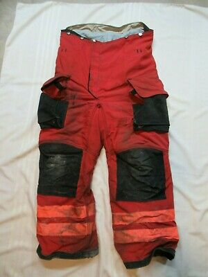 Lion Janesville 36r Firefighter Turnout Bunker Gear Pants Rescue Towing