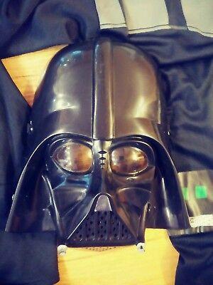 Children's Darth Vader Halloween  Costume. Complete w Mask. Size M/L ](Kids Darth Vader Costume)