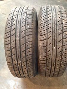 Two all season tires like new 185/65r14 $80