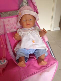 Baby Born female doll