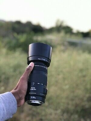 Canon 70-300mm EF 1:4-5.6 IS USM lens in Excellent Condition