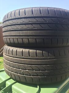 p205/45/16 inch Winter Tires / LOTS OF TREAD / GOOD DEAL