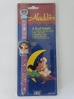 Vintage Disney Aladdin Watch Princess Jasmine by Hope NOS