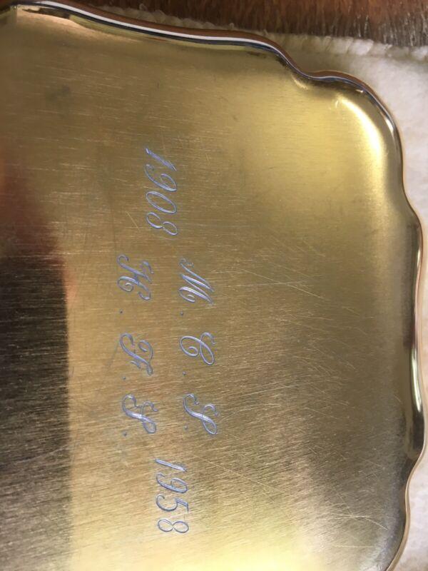 Tiffany Sterling Silver Dish 1958