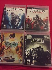 Playstation three games lot for sale