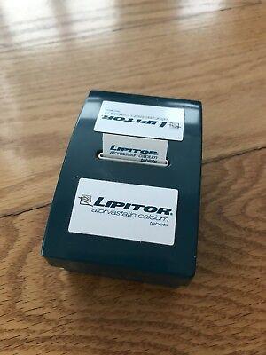 Lipitor Brand Tape Flags Novelty Pharma Atorvastatin Collectible Vintage Pfizer