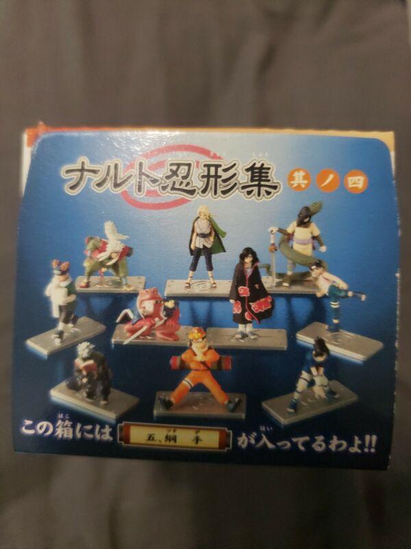 Naruto Bandai figure collection Set Very Rare 2006