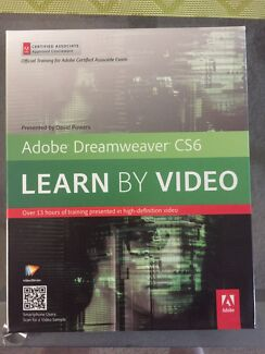 Adobe Dreamweaver CS6 learn by video
