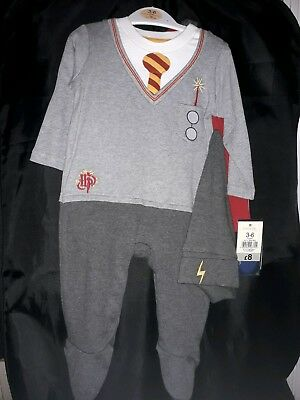 Baby Harry Potter Outfit Size 6-9 Months