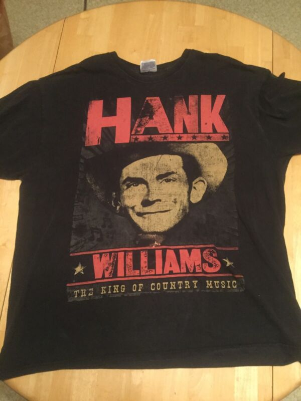 Vintage Hank Williams The King Of Country T Shirt XL