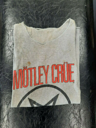 MOTLEY CRUE Shout at the Devil Tour 1993-1994 Original VTG Sleeveless Shirt