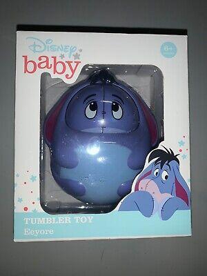 "Disney Baby Winnie the Pooh"" Eeyore"" Tumbler Toy Child Toddler Infant 6+ mo NEW"