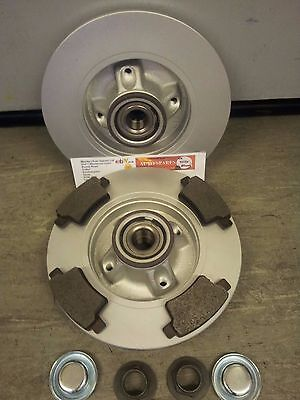 CITROEN C4 GRAND PICASSO REAR BRAKE DISCS AND PADS ALL MODELS 2006   2014