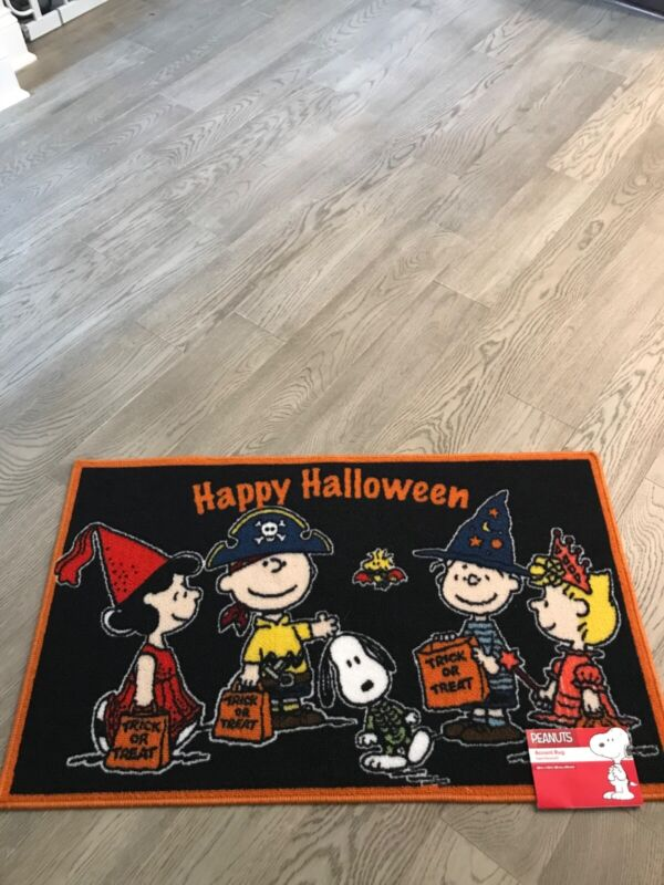 Peanuts Halloween Accent Rug 20x33 in.