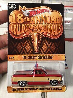 Hot Wheels 18th Annual Collectors Nationals '83 Chevy Silverado (b55)