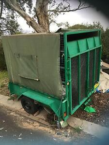 Trailer 8 x 7 Twin Axel fully enclosed with ramp Holt Belconnen Area Preview