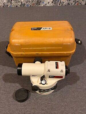 Nikon Ap-8 Automatic Level 28x Circle 360 W Case