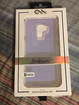SAMSUNG GALAXY S9+ S9 PLUS PHONE CASE CASEMATE IRIDESCENT NEW PURPLE PINK CLEAR