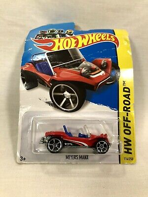 2014 Hot Wheels Meyers Manx (Red) HW Off-Road #114/250 Off-Track
