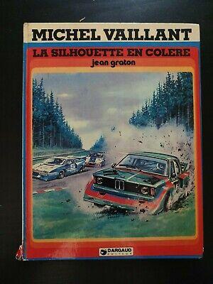 bande dessinée BD : michel vaillant - la silhouette en colère - EO 1979