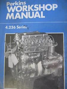 PERKINS 4235 series DIESEL ENGINE WORKSHOP SERVICE MANUAL c1984 Dianella Stirling Area Preview