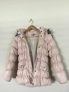 Pumpkin Patch Girls Down Feather Winter Jacket - Size 9 Greenway Tuggeranong Preview