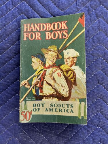 Boy Scouts of America - Handbook For Boys 1945