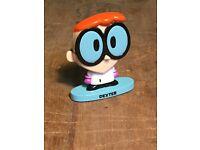 """Cartoon Network Dexter/'s Lab Dee Dee Toy Mini Bobble Head Figure Cake Topper 3/"""""""