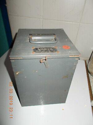 Nickel-eisen-batterie (Stahl - Akkumulator  Prüfausstattung  orig. VARTA   Nickel - Eisen  Batterie)