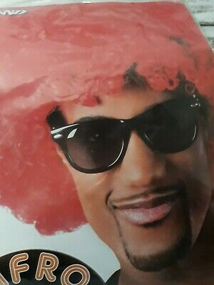 Perücke Afro rot NEU Mottoparty Karneval Movie Clown Zirkus Manege Geburtstag