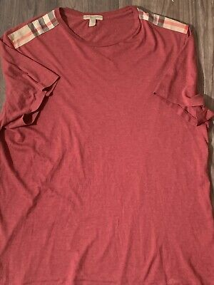 Burberry Mens T Shirt Size Large 100% Authentic