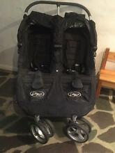 City Jogger Double stroller with woollen under lays Hornsby Heights Hornsby Area Preview