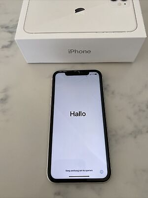 iPhone 11 White 128gb Verizon w/ Box