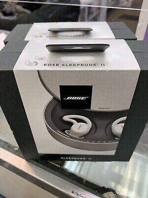 Bose SLEEPBUDS II Wireless Bluetooth Headphones with Charging Case - White