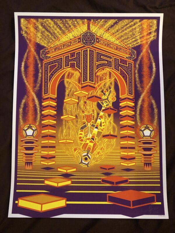 Phish St Louis Poster Print Summer Tour 2019