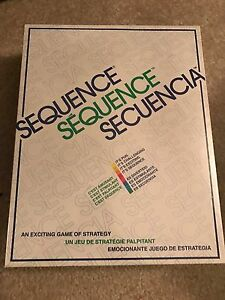 Sequence game new in box/wrapper
