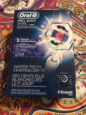 Articulated-B Pro 3000 3D White Smartseries Rechargeable Toothbrush