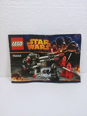 Lego Star Wars 75034 Death Star Troopers Battle Pack - Instruction Manual Only