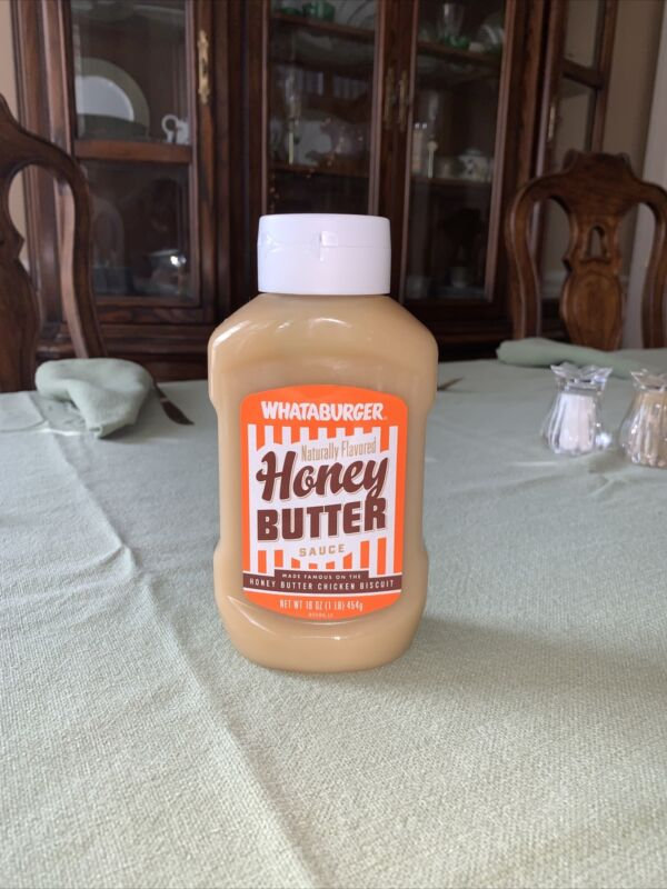 "Whataburger  16oz Honey Butter Sauce for ""The Famous Chicken Biscuit"""