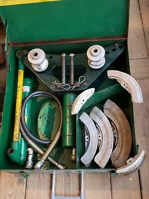 Greenlee 880 - 12 Thru 2 One Shot Hydraulic Conduit Bender  755 Hand Pump