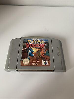 pokemon stadium n64 cart, nintendo 64, pal,