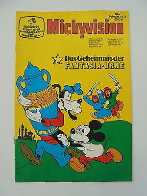 Mickyvision - Heft Nr. 2 - von 1976. Walt Disney Comic / Z. 1-2