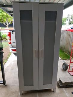 Ikea wardrobe two doors with panels