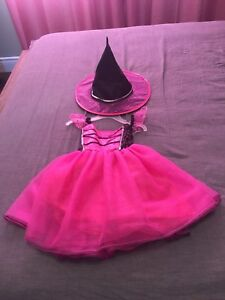Witch costume and 3/4 sleeve top - size 4T