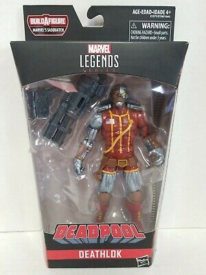 Hasbro Marvel Legends Deadpool Series Deathlok Action Figure w/ Weapon, No BAF