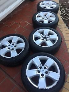 Ford BA BF MKII Rims and Tyres Calder Park Brimbank Area Preview